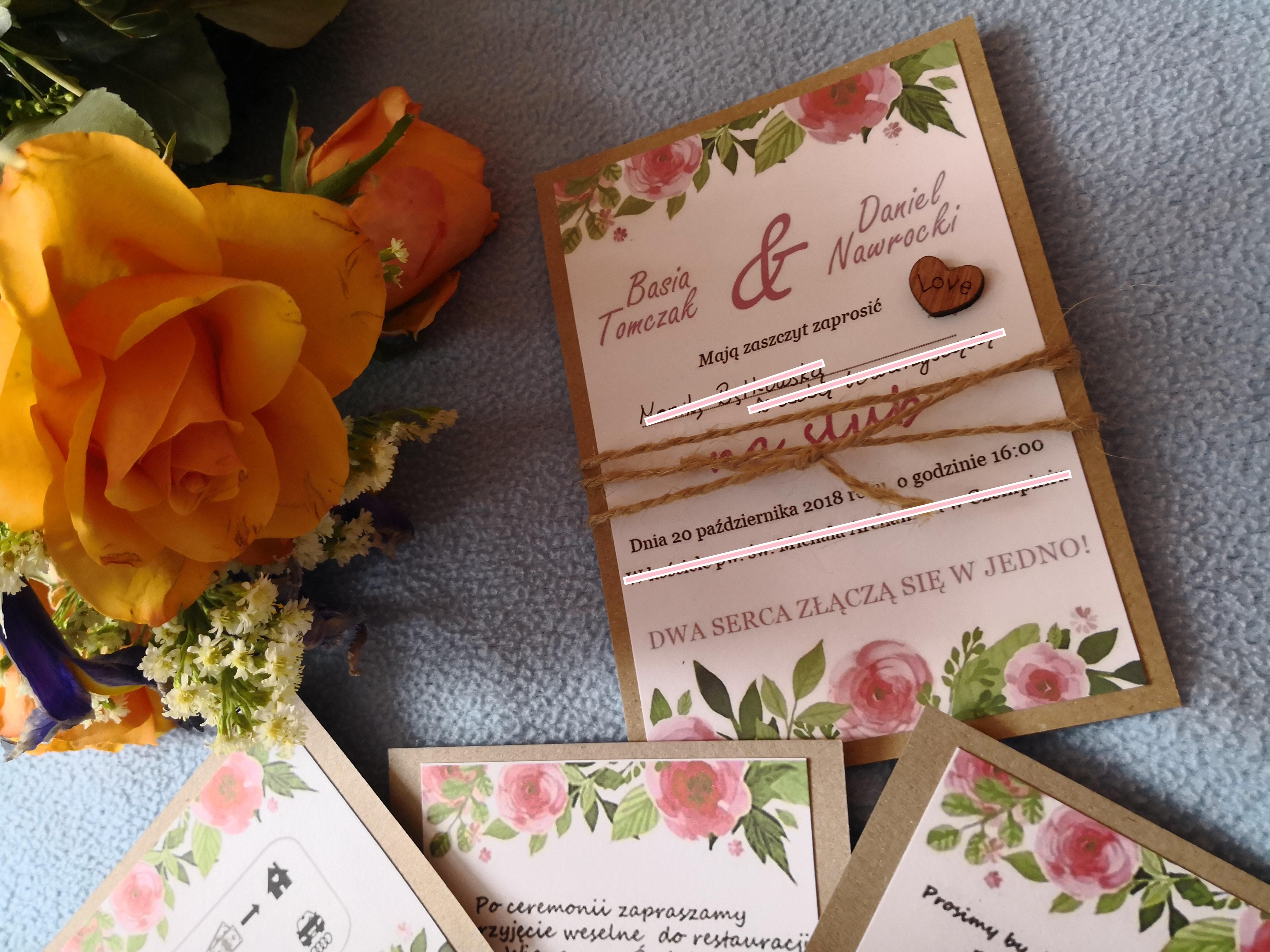 Jak Zrobić Samodzielnie Zaproszenia ślubne